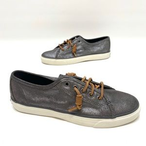 Sperry top sider metallic women's boat shoes 8.5 M